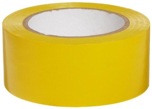 Yellow Aisle Marking Tape - Brady Vinyl Aisle Marking Tape - Yellow, Abrasion Resistant Tape - 2