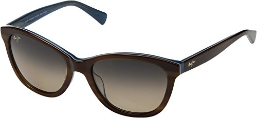 Maui Jim Women's Canna Tortoise/White/Blue One - Jim Cat Maui Maui