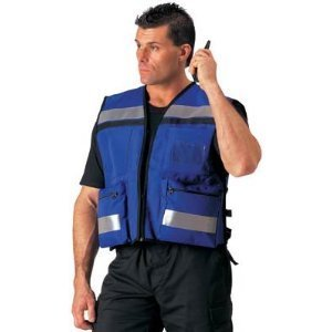 Rothco Rescue Safety Vest, Blue (Ems Rescue Vest)