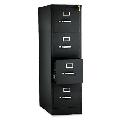 4 Drawer File, Vertical, Letter, 15
