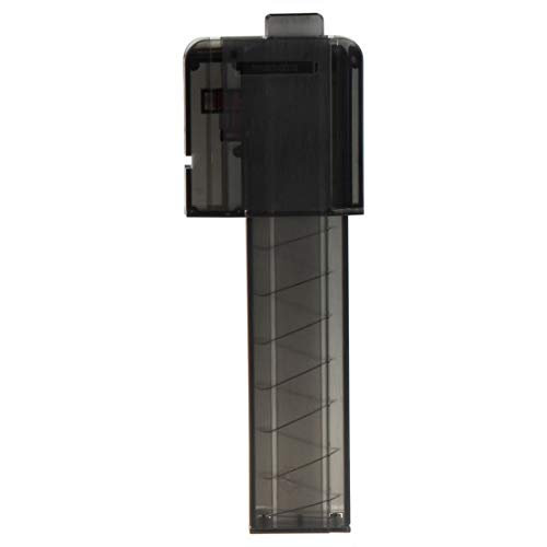 FenglinTech Worker Narrow Magazines with Worker Talon - 18 Short Darts Magazine Quick Reload Clip - (Black)