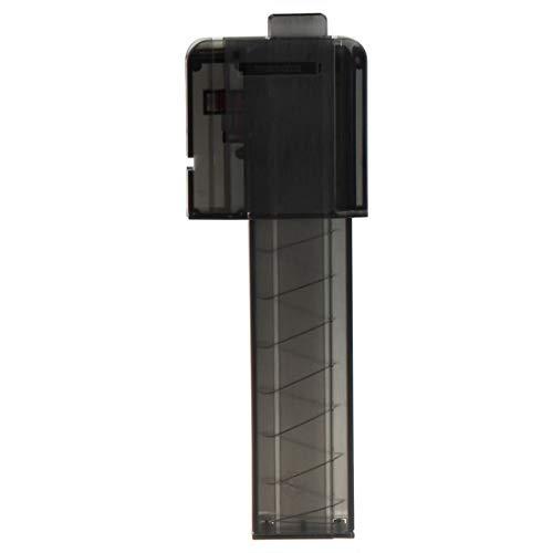FenglinTech Worker Narrow Magazines with Worker Talon - 18 Short Darts Magazine Quick Reload Clip - (Black)