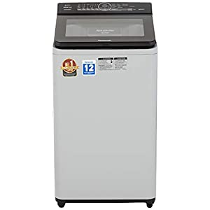 Panasonic 6.7 kg Built-in Heater Fully-Automatic Top Loading Washing Machine (NA-F67AH8MRB,Middle free silver, Advanced…