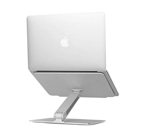 Jumeng tech Laptop Stand, Aluminum Cooling Notebook Stand Height and Angle Adjustable Foldable Stand Holder for PC/Notebook/Thinkpad/MacBook Pro/air 13