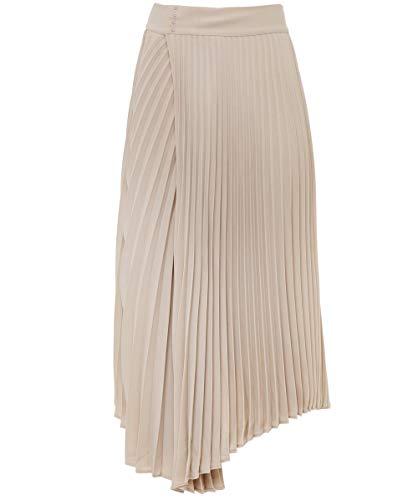 Vince Women's Drape Pleated Skirt Stoneware ()