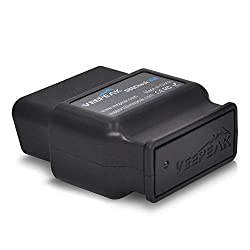 Veepeak OBDCheck BLE OBD2 Bluetooth Scanner Auto OBD II Diagnostic Scan Tool for iOS & Android, Bluetooth 4.0 Car Check Engine Light Code Reader Supports Torque, OBD Fusion app
