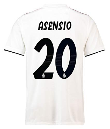 online store a657d c5168 Amazon.com : COCOBE Viscustom Asensio Jersey Real Madrid ...