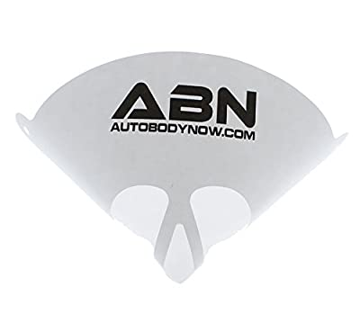 ABN Strainer Cone Funnel with Filter Top - Disposable 190 Micron Fine Nylon Mesh -Paint, Automotive, More