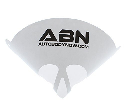 Funnel Global - ABN Strainer Cone Funnel with Filter Top 250-Pack - Disposable 190 Micron Fine Nylon Mesh -Paint, Automotive, More