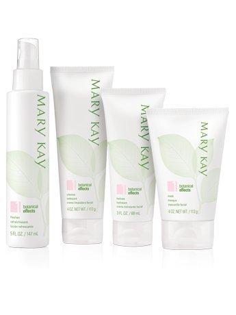 Mary Kay Botanical Effects Skin Care Set Formula 1 Dry Skin