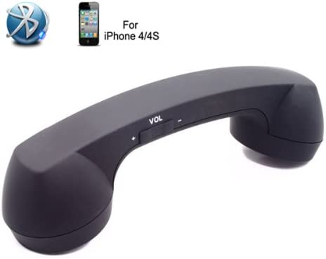 Amazon Com Wireless Bluetooth Handset Microphone Retro Telephone Style For Iphone 4 4s Cellphone Android Smartphones Rh101b