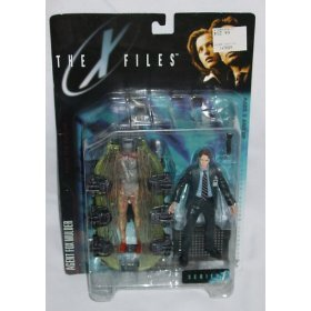 Figures The X-Files Fight The Future Movie Agent Fox Mulder Action Figure with Cryopod Chamber and Human Host by X-Files Series 1 Action & Toy Figures