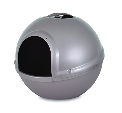 Petmate Booda Dome Pearl Litter Box, Grey