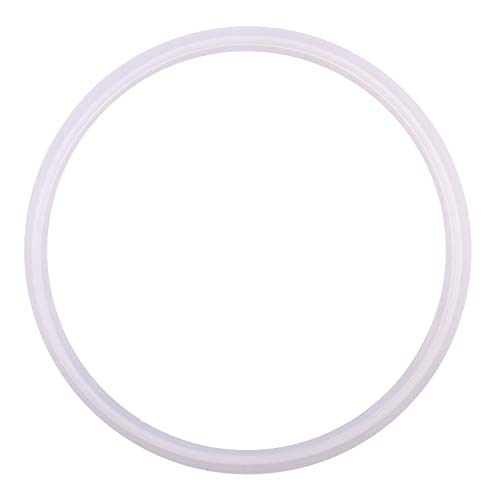 (DERNORD Silicone Gasket Tri-clover (Tri-clamp) O-Ring - 6 Inch (Pack of 1))