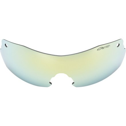 Smith PivLock V2 Max Replacement Lenses Yellow Mirror, One - Max Pivlock Smith Sunglasses V2