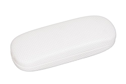Pinpoint Eyeglass Case for Large Frames in White