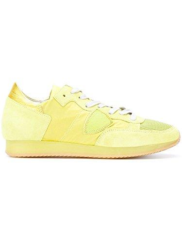 Philippe Model Dames Sneaker Gele Geel, Geel - Geel - Size: 36 Eu