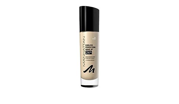 Base de maquillaje Manhattan, Endless Perfection, color 063 Sand, 30 ml (1 unidad): Amazon.es: Belleza