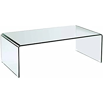 types glass table box acrylic clear shadow of lucite white coffee tempered