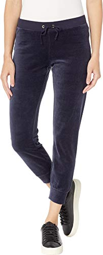 (Juicy Couture Women's Velour Zuma Pants Regal Small 30.5)