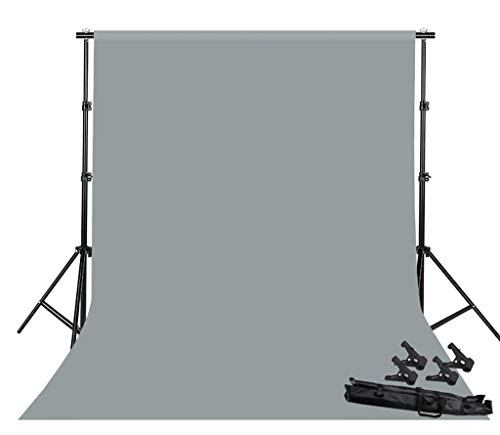 Background Stand Photo Video Studio Background Backdrop Stand Kit, 2x2m Photography Support System with Backdrops Cotton for Portrait,Product Photography and Video Shooting (Color : Gray) by Background Stand (Image #8)