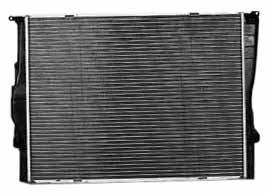 TYC 2882 BMW 3 Series 1-Row Plastic Aluminum Replacement (Bmw 325i Radiator Replacement)