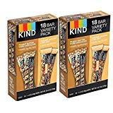 KIND Bars (2Flavors, 36 Bars)