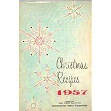 Christmas Recipes 1957
