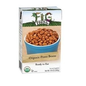 Fig Food Organic Pinto Beans, 15 Ounce