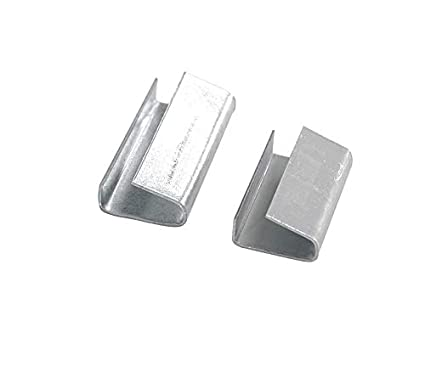 Box 2000 Metal Seal Hand Pallet Strapping Metal Seals Steel Clips 12 MM x 25MM