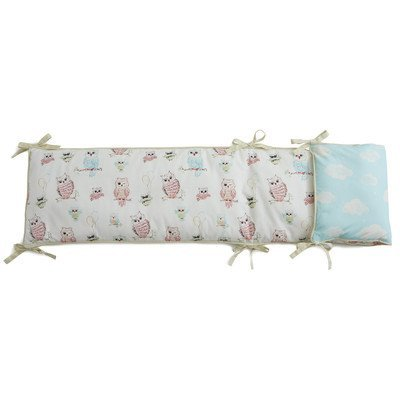 Baby Owls Bumper by Little Acorn