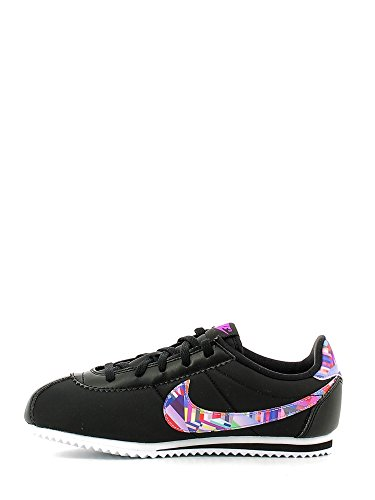 Nike 859565-001 - Zapatillas de deporte Niñas Negro (Black / Hyper Violet-Hyper Violet-White)