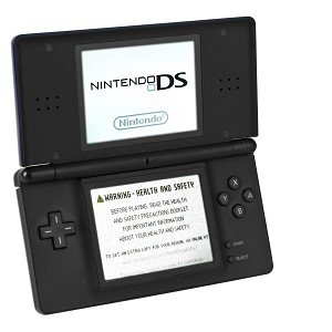 Nintendo DS Lite Handheld Dual LCD (One Touchscreen) Game System w/WiFi (Cobalt Blue) ()