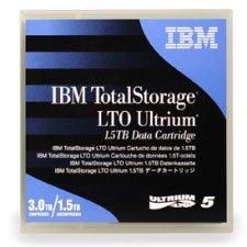 IBM LTO Ultrium-5 1.5TB/3.0TB 5/pk by IBM