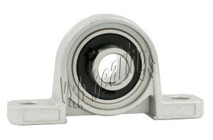"1/4"" inch Bore Miniature Small Pillow Block Mounted Ball Bearing 0.250 Inner Diameter MUP4"