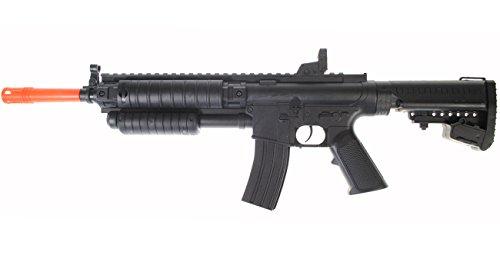 300 FPS - D.O.A. Spring Power Pump Tactical Airsoft Gun Rifle + BBS - 3/4 Scale