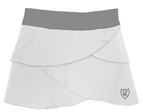 Loriet Women's Monaco Performance Skorts (XX-Large, White/Grey)
