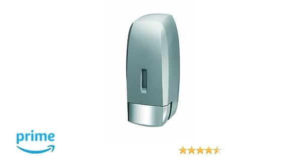 Bisk 02281 Dispensador de Jabón 1000ml, Color Acabado Satinado: Amazon.es: Hogar