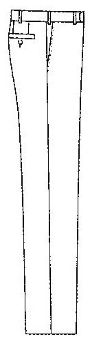 Wilvorst -  Pantaloni da smoking  - Basic - Uomo Grau 30