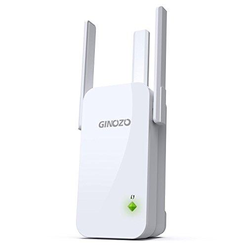 WiFi Range Extender, R3 WiFi Repeater N300 Wireless Booster 2.4GHz Internet Network Signal Amplifier with 3 External Antennas
