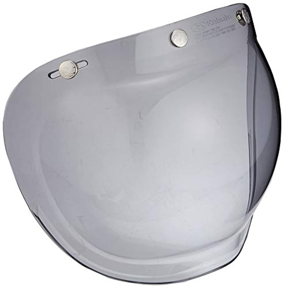 [해외] OG K (카부)카브도(OGK KABUTO) 제트 헬멧용 와이드 버블 쉴드 노멀 컬러 라이트 스모크 (WB-NORLSM)