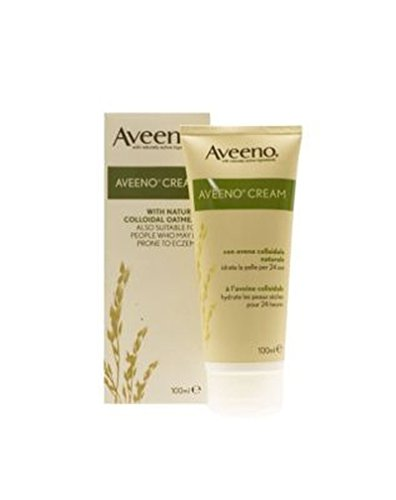 Aveeno Cream With Natural Colloidal Oatmeal 100Ml - Pack of