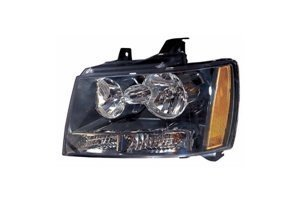 Chevy Tahoe / Suburban / Avalanche 07-12 / Tahoe Hybrid 08-12 Headlight Assembly LH USA Driver Side NSF