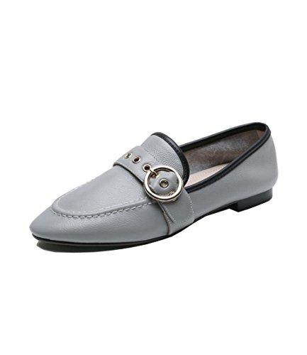 Doux Confortable Boucle Chaussures Mtal En Simple Plat Casual Super Sans Zfnyy Mode wqFx1OtCw
