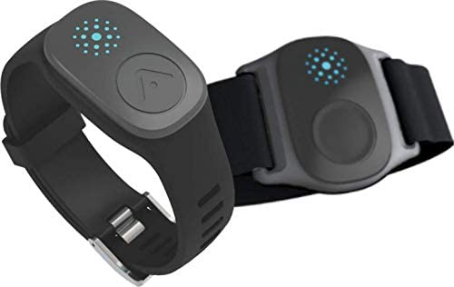 Accuro LYNK2 – Waterproof Wrist & Armband Combo Heart Rate Monitor with ANT+ & Bluetooth Capabilities - Small