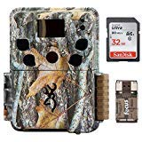 Browning Dark Ops HD Pro Trail Camera BTC-6HDP (18 Megapixels, Camo) & 32Gb Card with Focus Reader