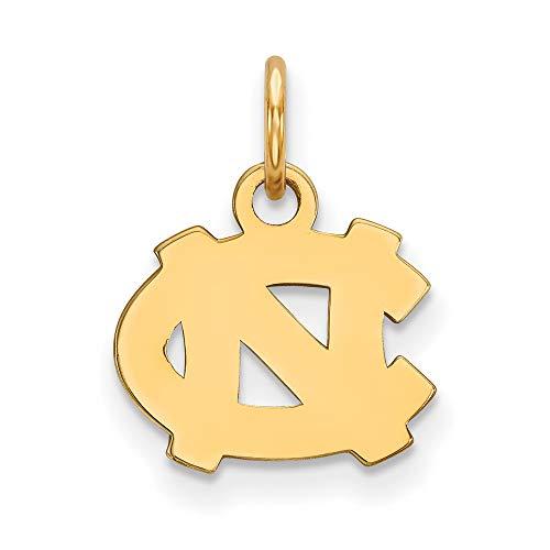 North Carolina Extra Small (3/8 Inch) Pendant (14k Yellow Gold) ()