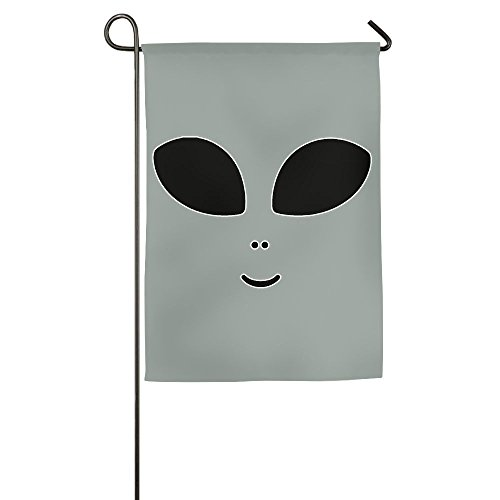 LLiYing-D Halloween Costume Cute Alien Custom Gift Flag]()