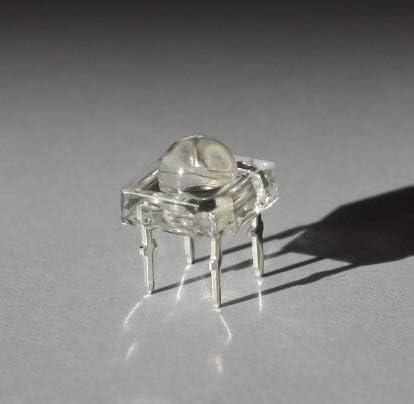 Lumetheus Led 5mm Linse Superflux Farbe Weiß 20 Stück Elektronik