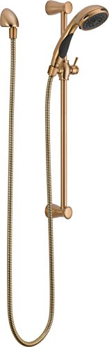 Delta 57014-CZ Champagne Bronze Hand Shower Package with Touch Clean Technology